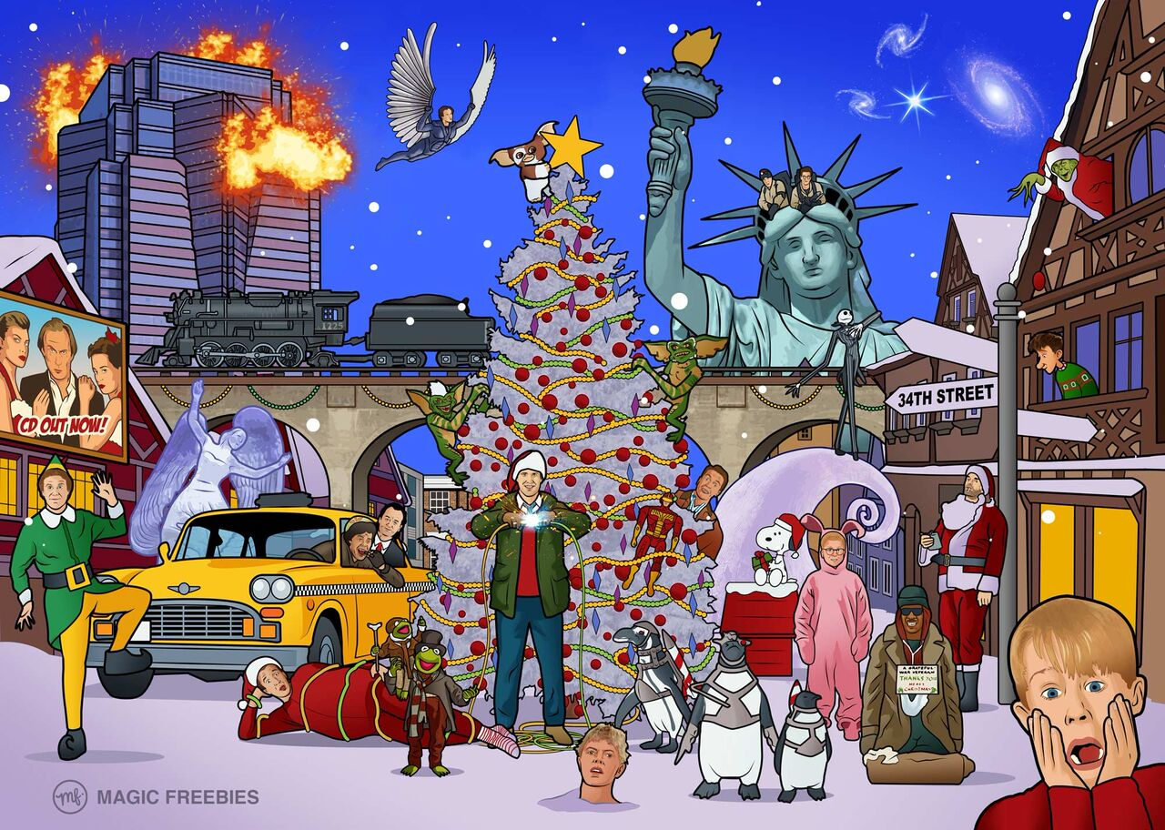 Can You Spot The 25 Christmas Movies Hidden In This ...