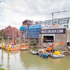 Finzels Reach Bridge progress pic