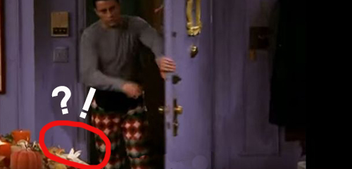 Joey Thanksgiving Gaffe