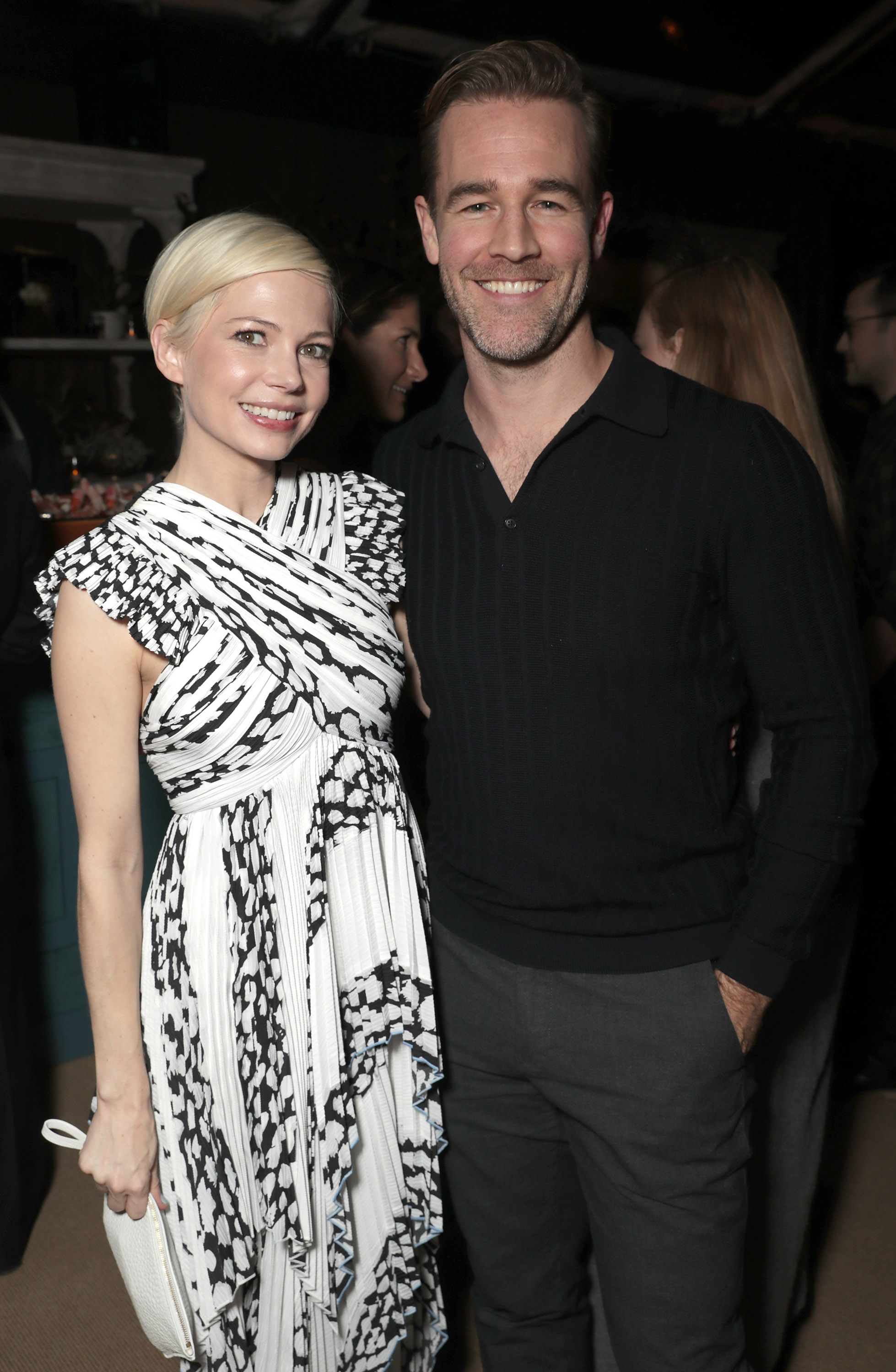 Michelle Williams and James Van Der Beek