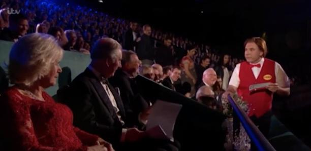 David Walliams Royal Variety
