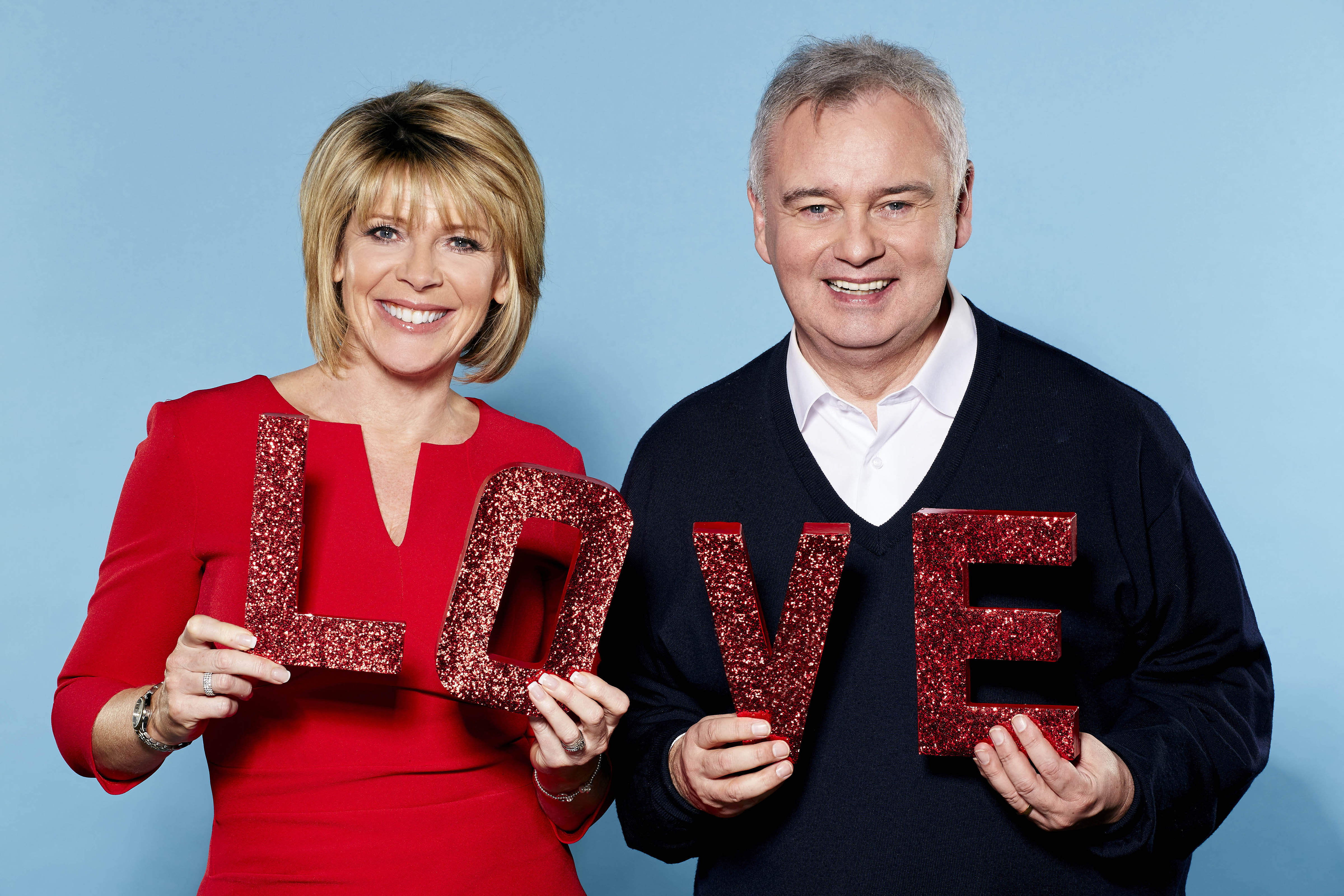 Eamonn Holmes and Ruth Langsford This Morning