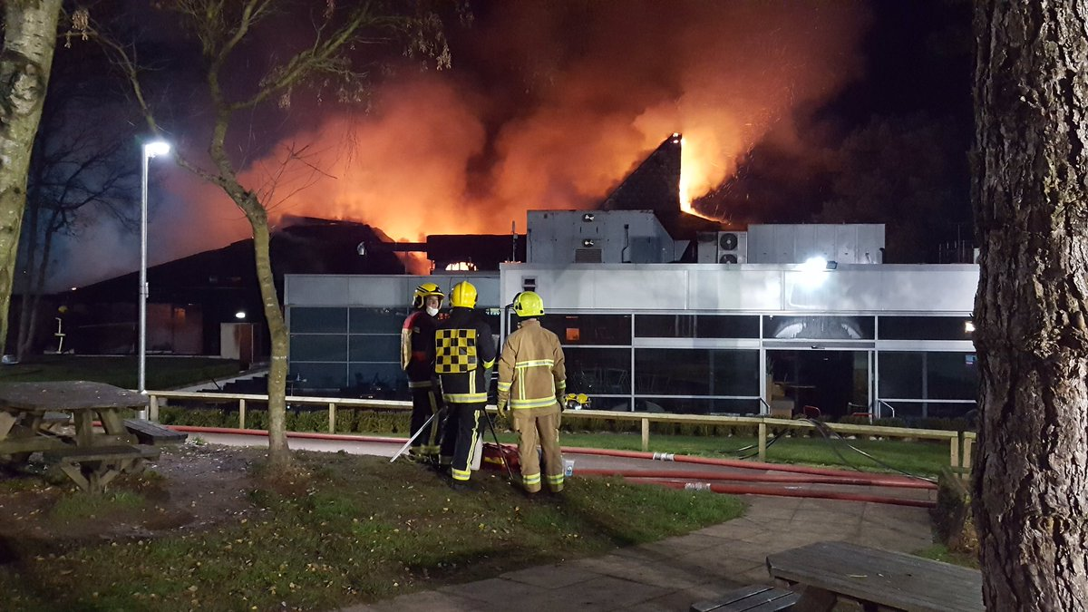 Fire at Fleet Services 2