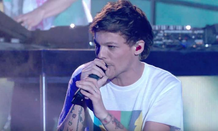 Louis Tomlinson X Factor Performance