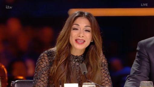 Nicole Scherzinger drunk on the X Factor
