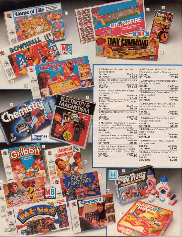 Have A Look Through This Argos Catalogue From 1985