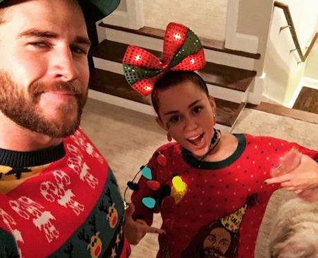 Miley Cyrus And Liam Hemsworth Show Jesus Some Lov