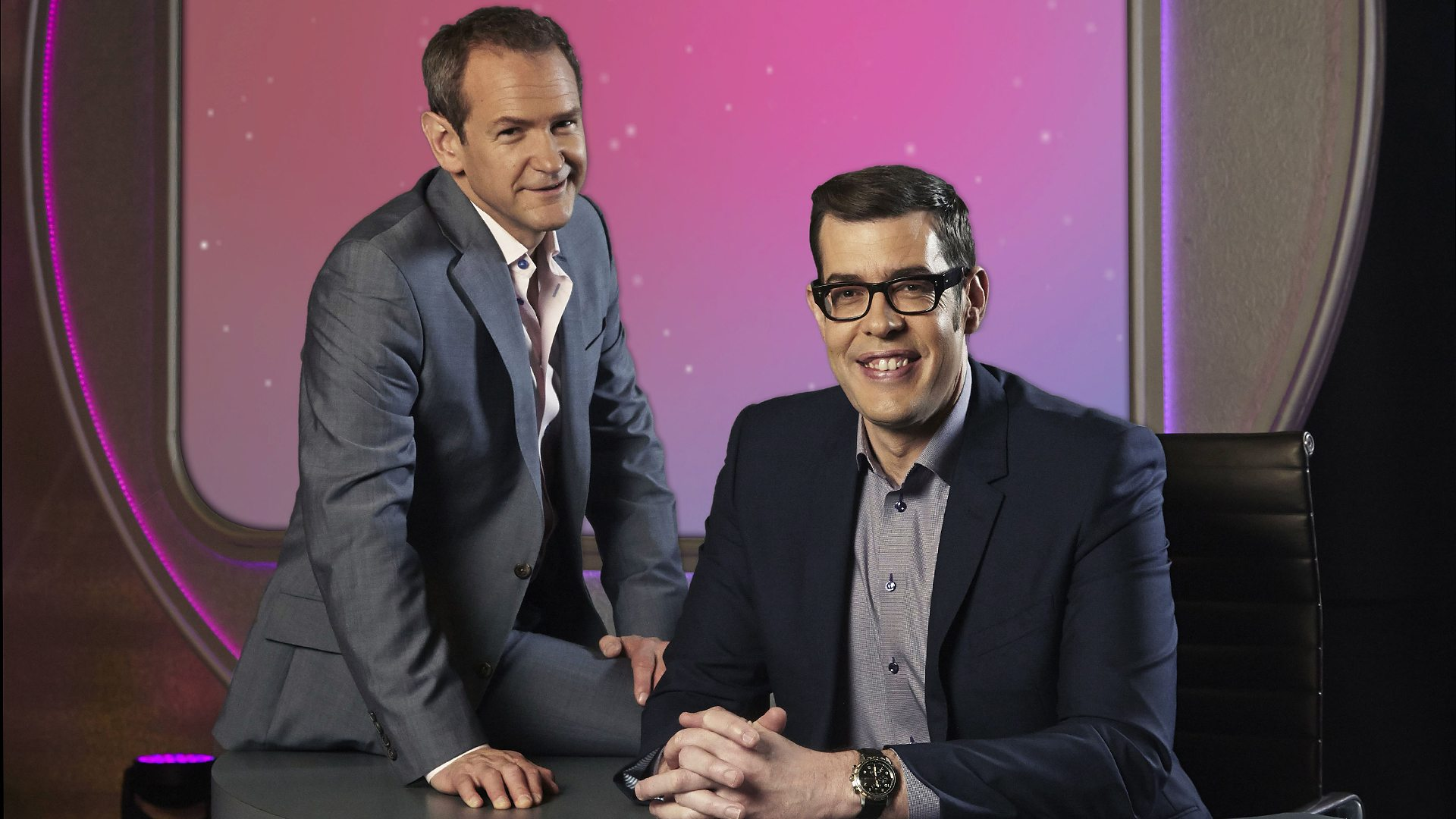 Richard Osman and Alexander Armstrong pointless