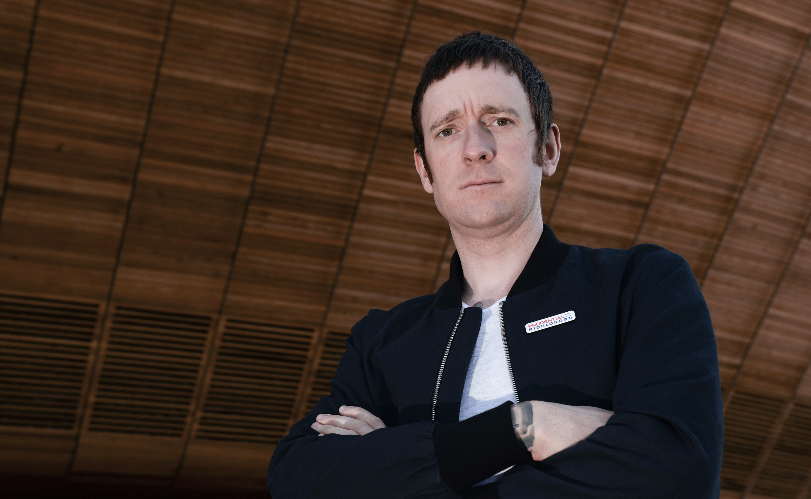 Bradley Wiggins joins the Jump