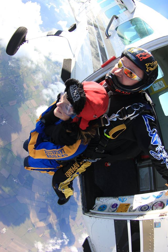 gemma Hill Skydive