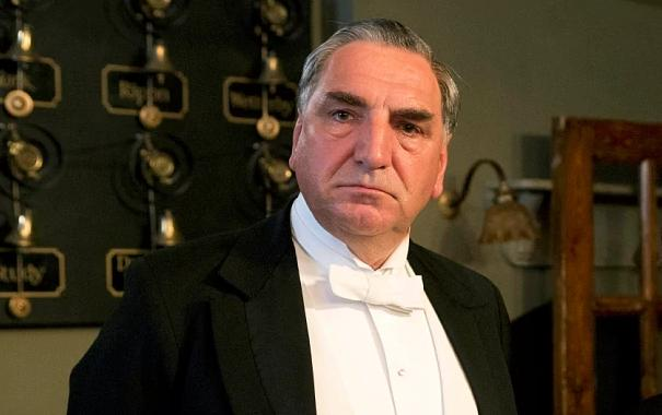 Jim Carter as Carson on Downton Abbey
