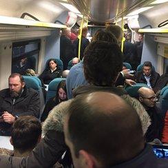 train commuters