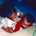Image 9: North West and Saint West playing together