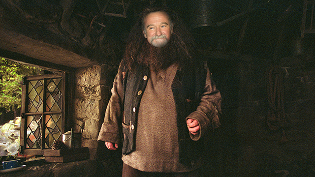 Robin Williams As Hagrid