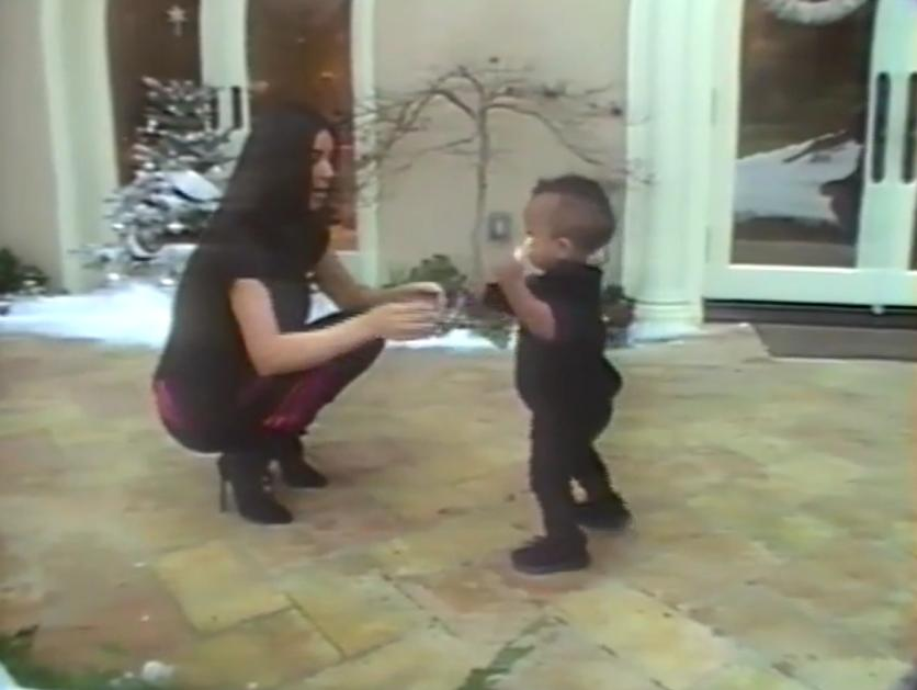 Unseen Family Footage Of Kim Kardashian Is Giving