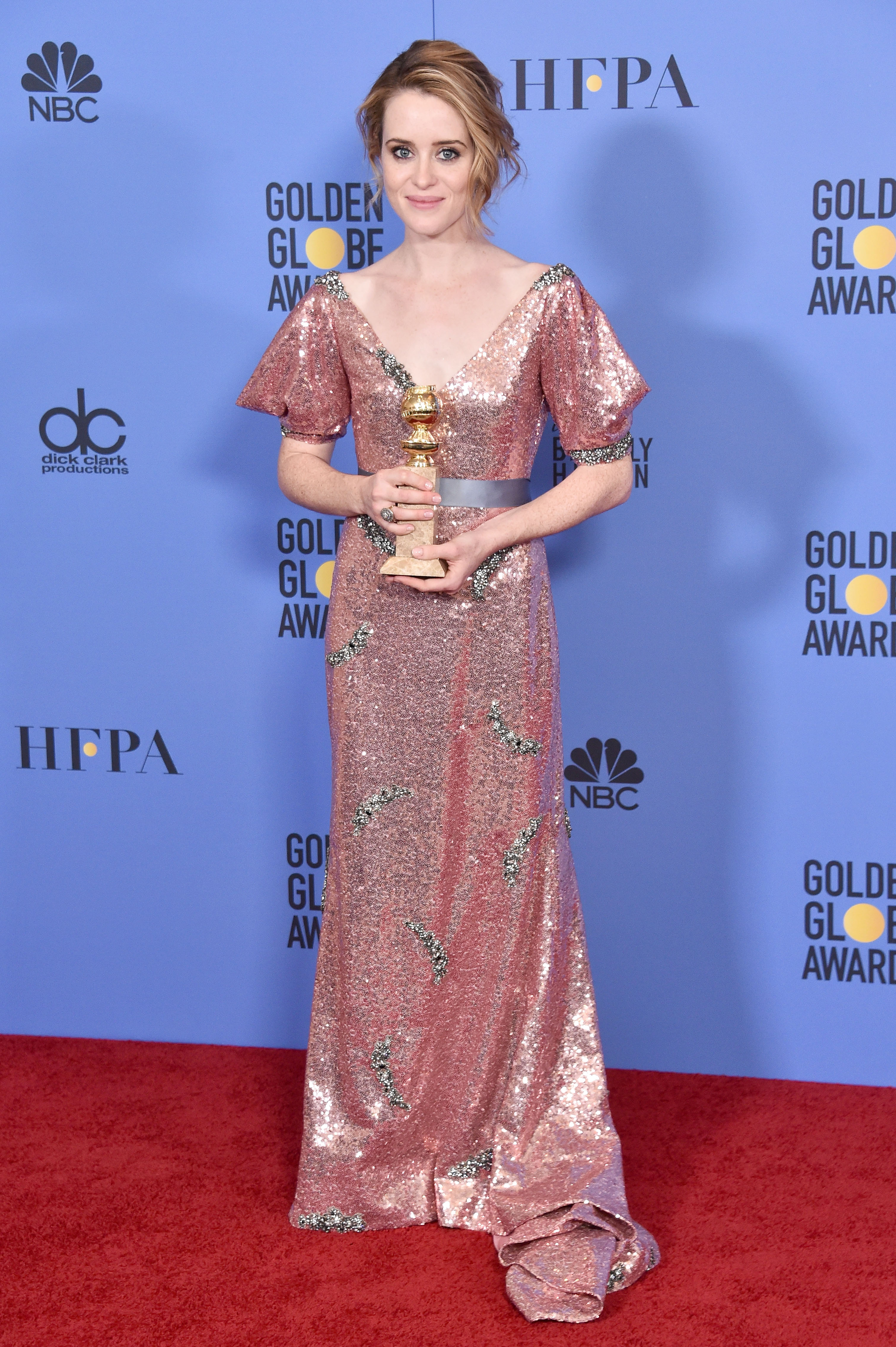 Claire Foy 74th Golden Globes