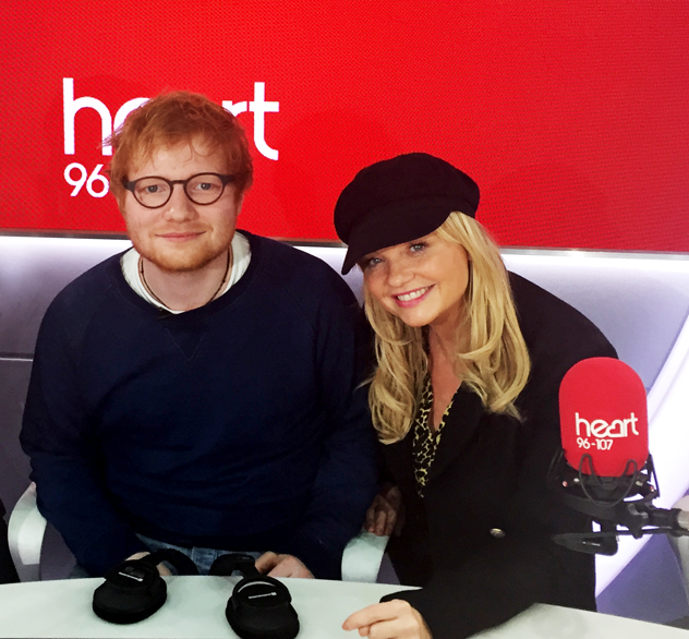 Emma Bunton and Ed Sheeran on Heart