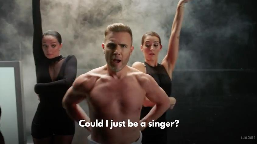 Gary Barlow Let It Shine Naked