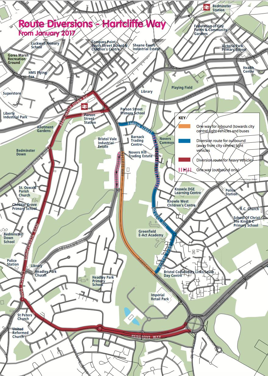 Hartcliffe Way Road Works