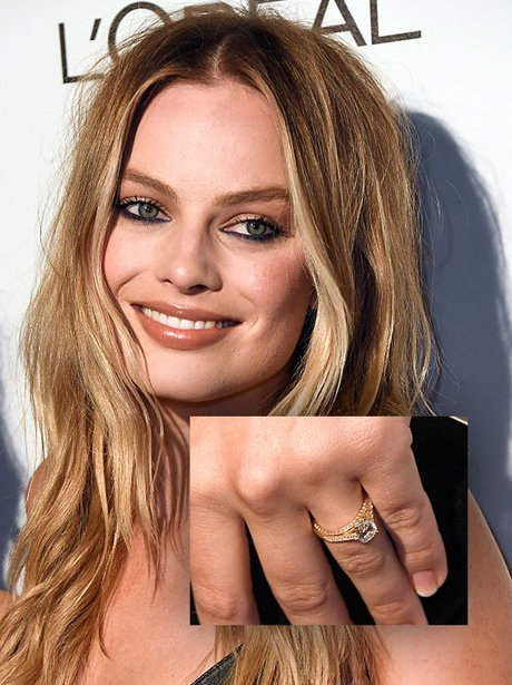 Margot Robbie engagement ring