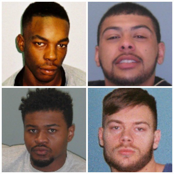 Shropshire stabbing men jailed