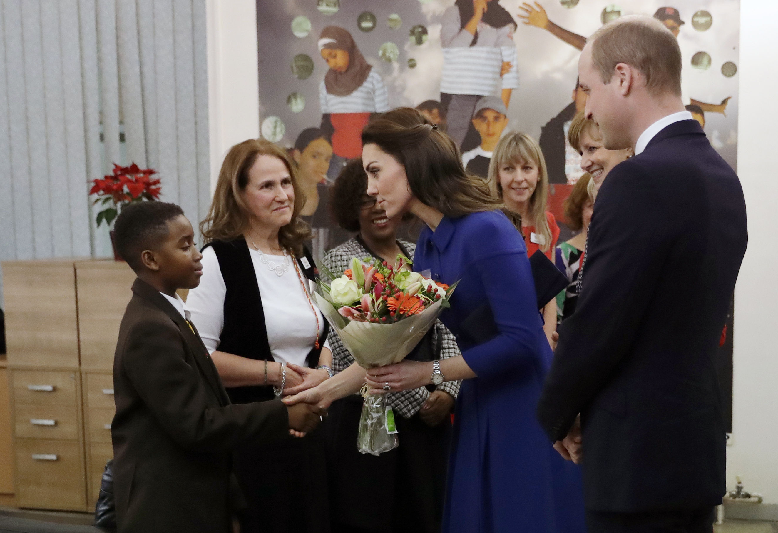 The Duke and Duchess of Cambridge visit Child Bere