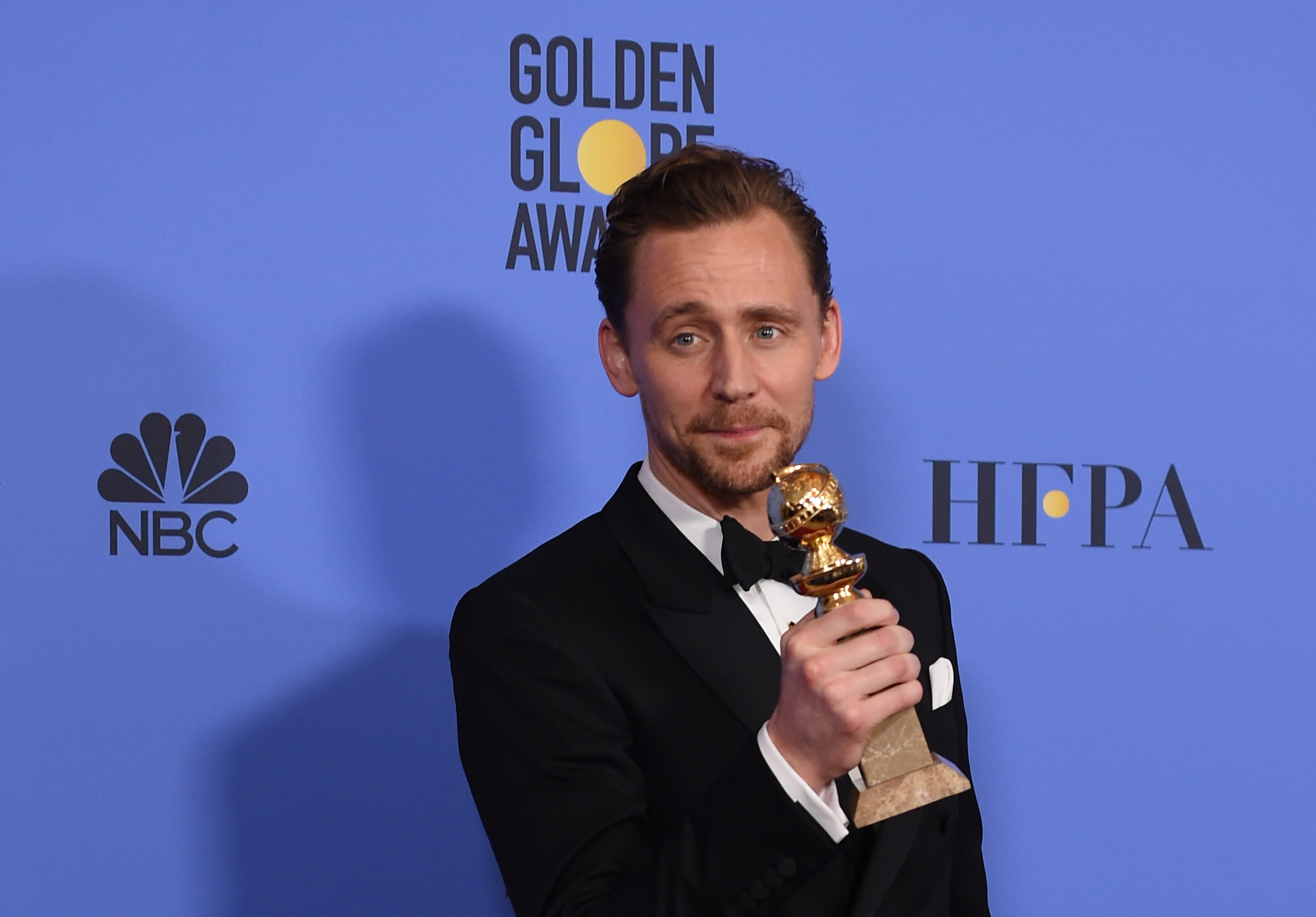 Tom Hiddleston 74th Golden Globes Awards