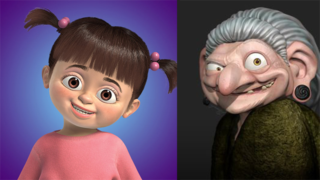Boo and the Witch from Brave