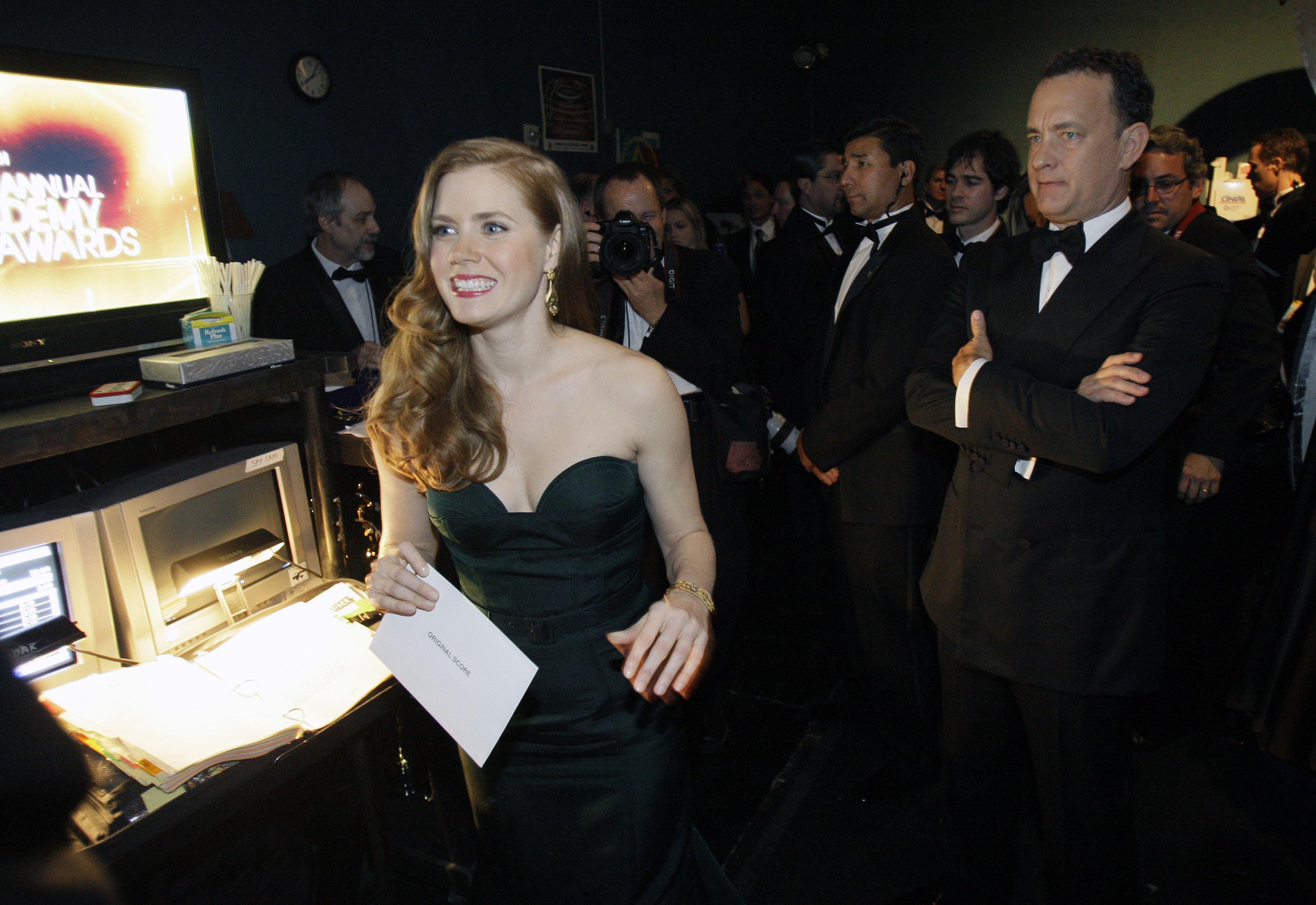 Amy Adams Tom Hanks Oscars