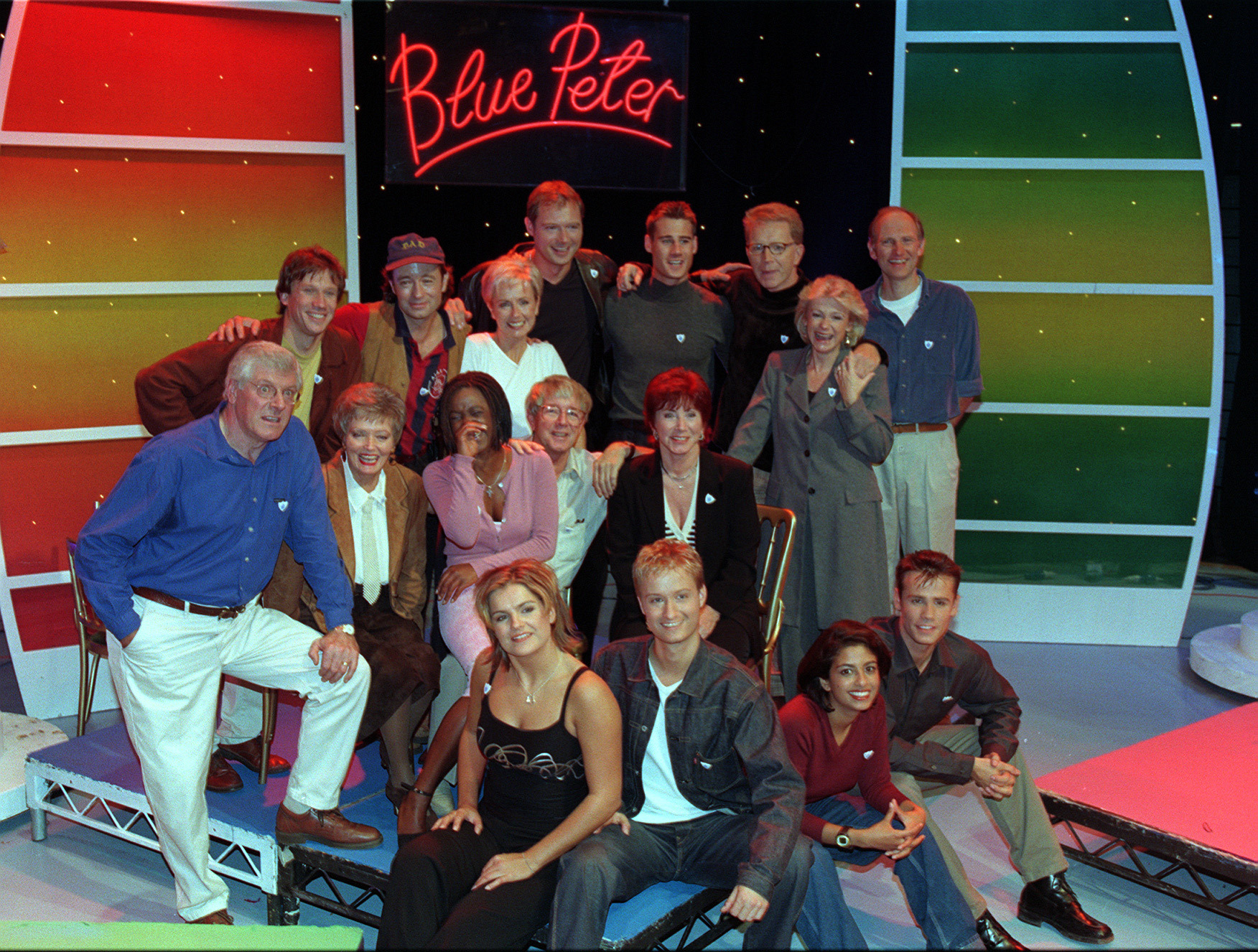 Blue Peter Presenter's 1998