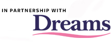 Dreams partnership promo tab