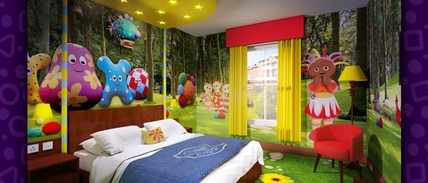 In The Night Garden CBeebies Hotel
