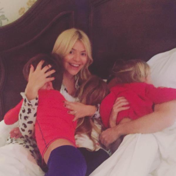 Holly Willoughby celebrates her birthday