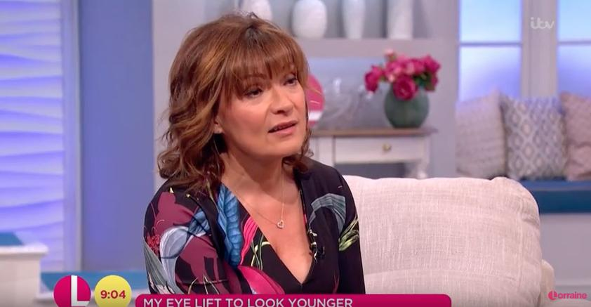 Lorraine dress backwards on This Morning