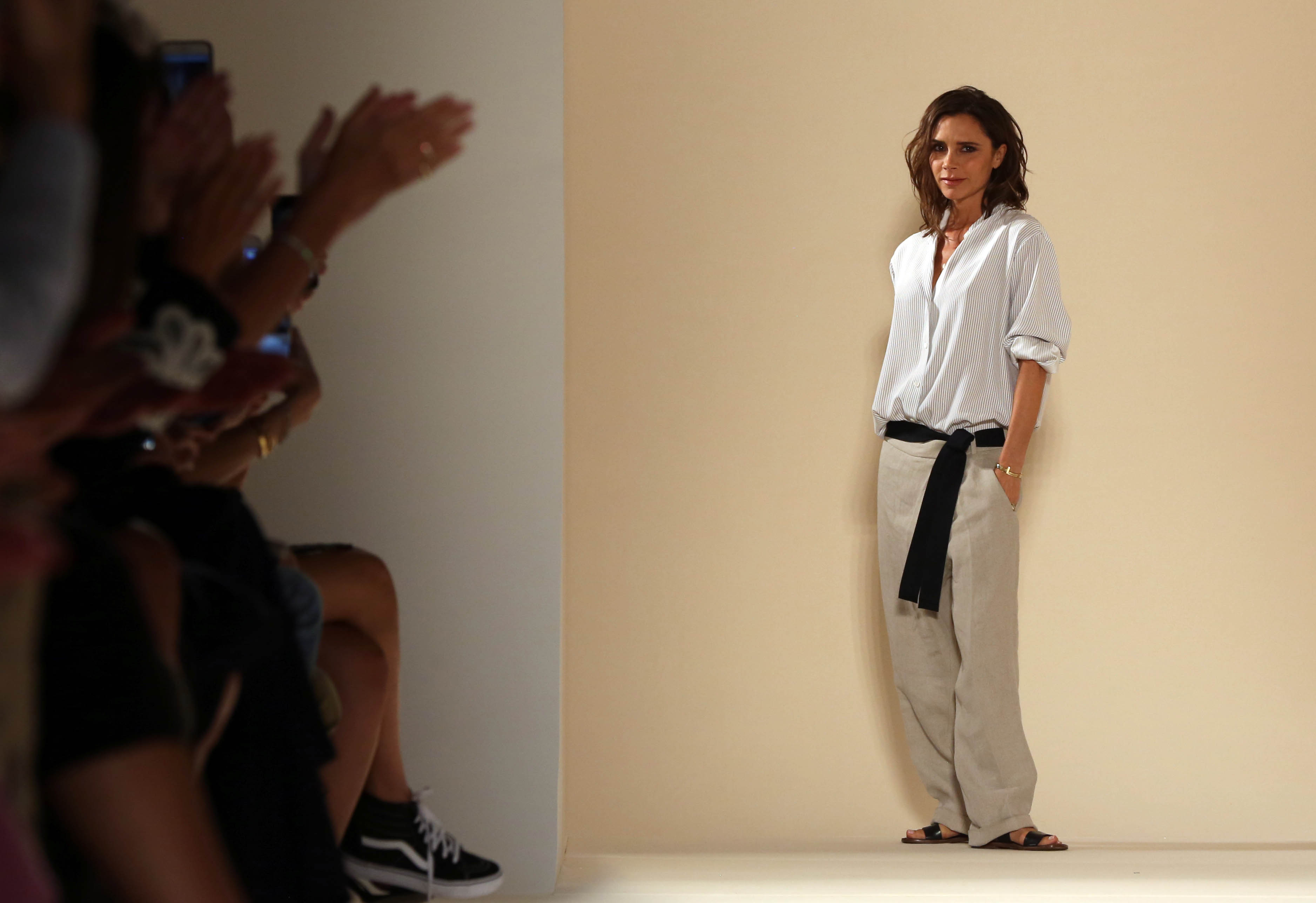 Victoria Beckham baggy trousers