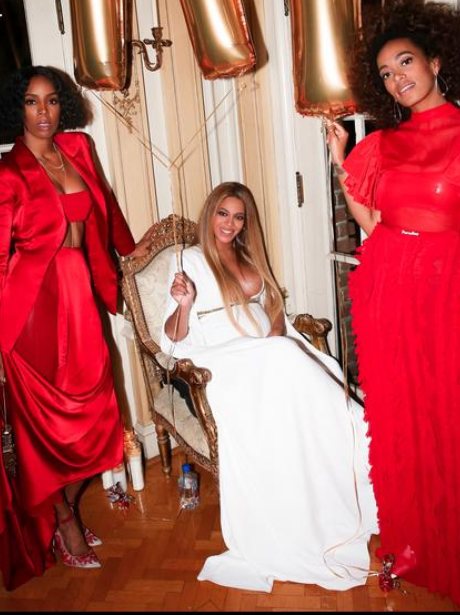 Beyonce parties after Grammy win Kelly Rowland and