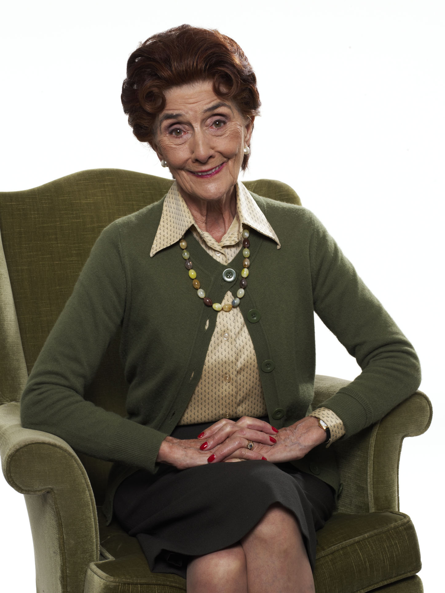 Dot Cotton real hair