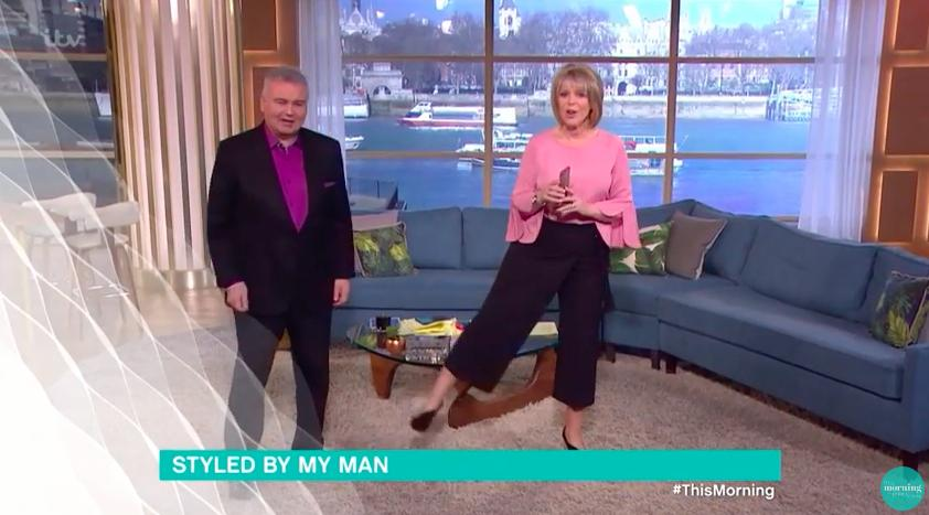 Eamon Holmes styles Ruth Langsford on This Morning