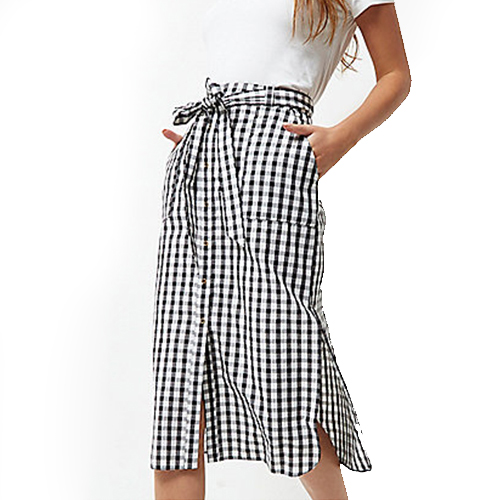 Asos Skirt Gingham