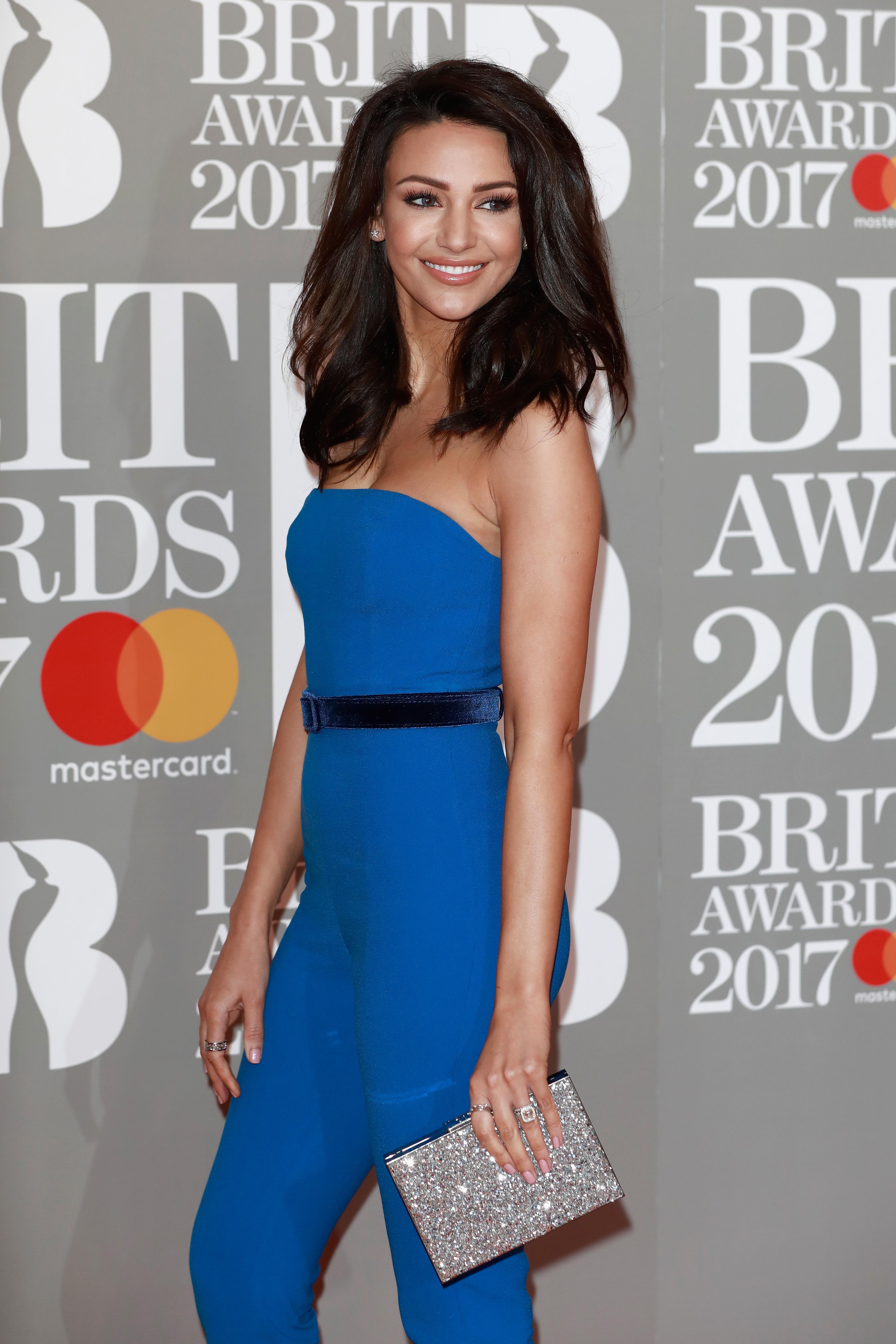 Michelle Keegan Brit Awards