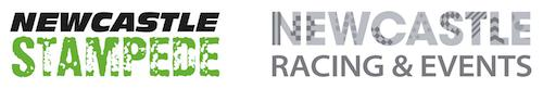 Newcastle Stampede Logo and Newcastle Race Course