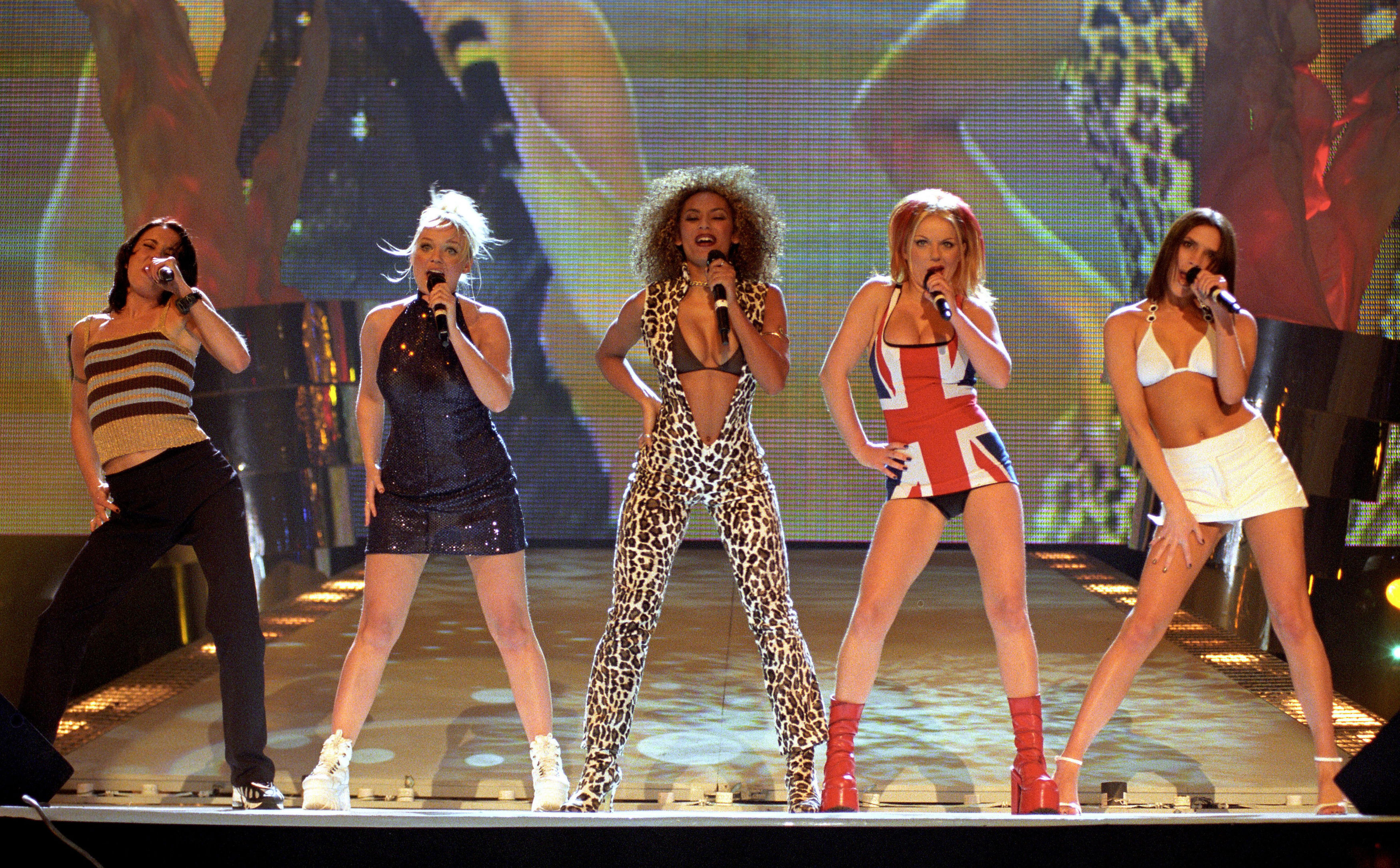 Spice Girls BRITS 1997