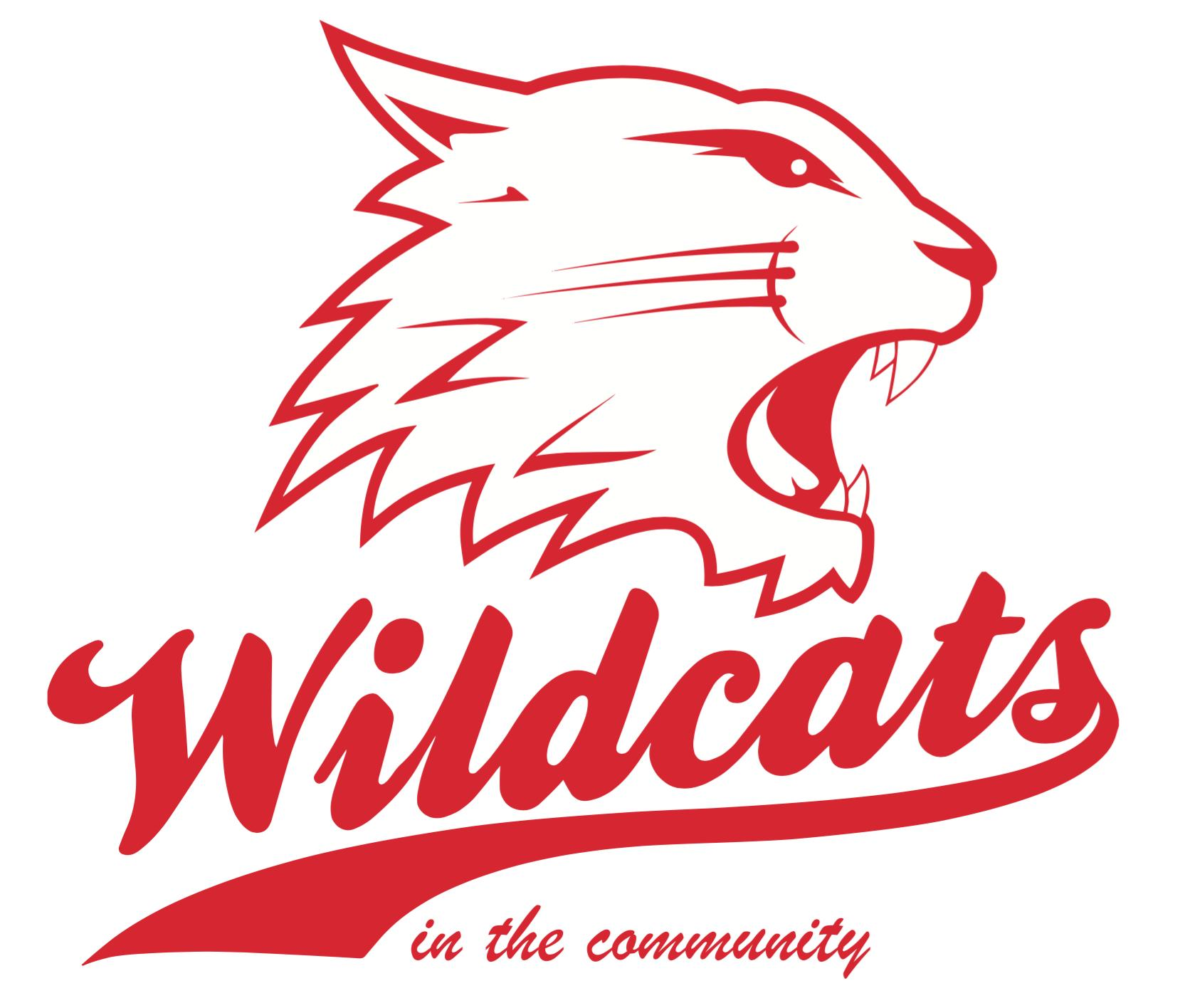 Wildcats in the Community logo