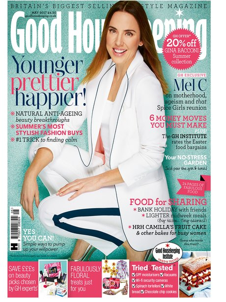 Mel C in Good Housekeeping magazine