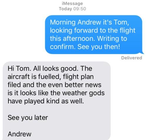 Andrew pilot