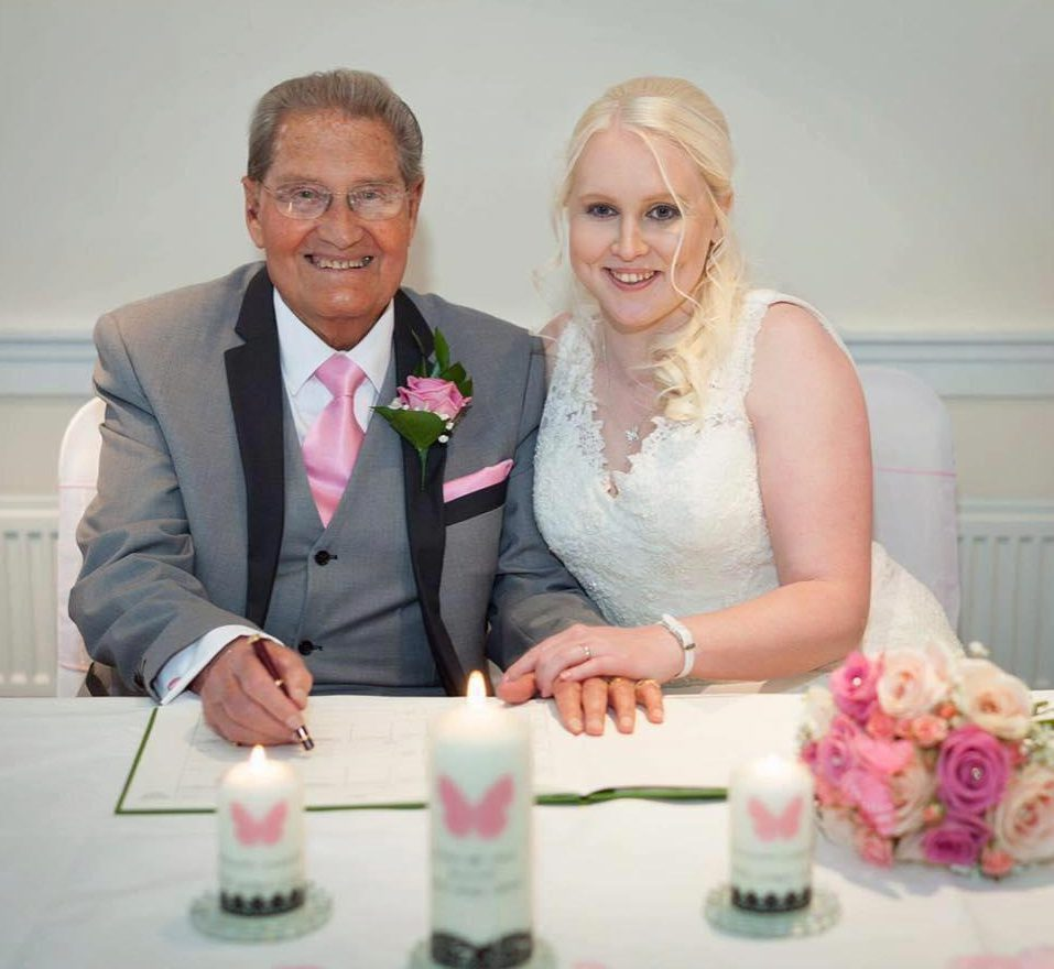 Eldest chuckle brother weds 26 year old fan