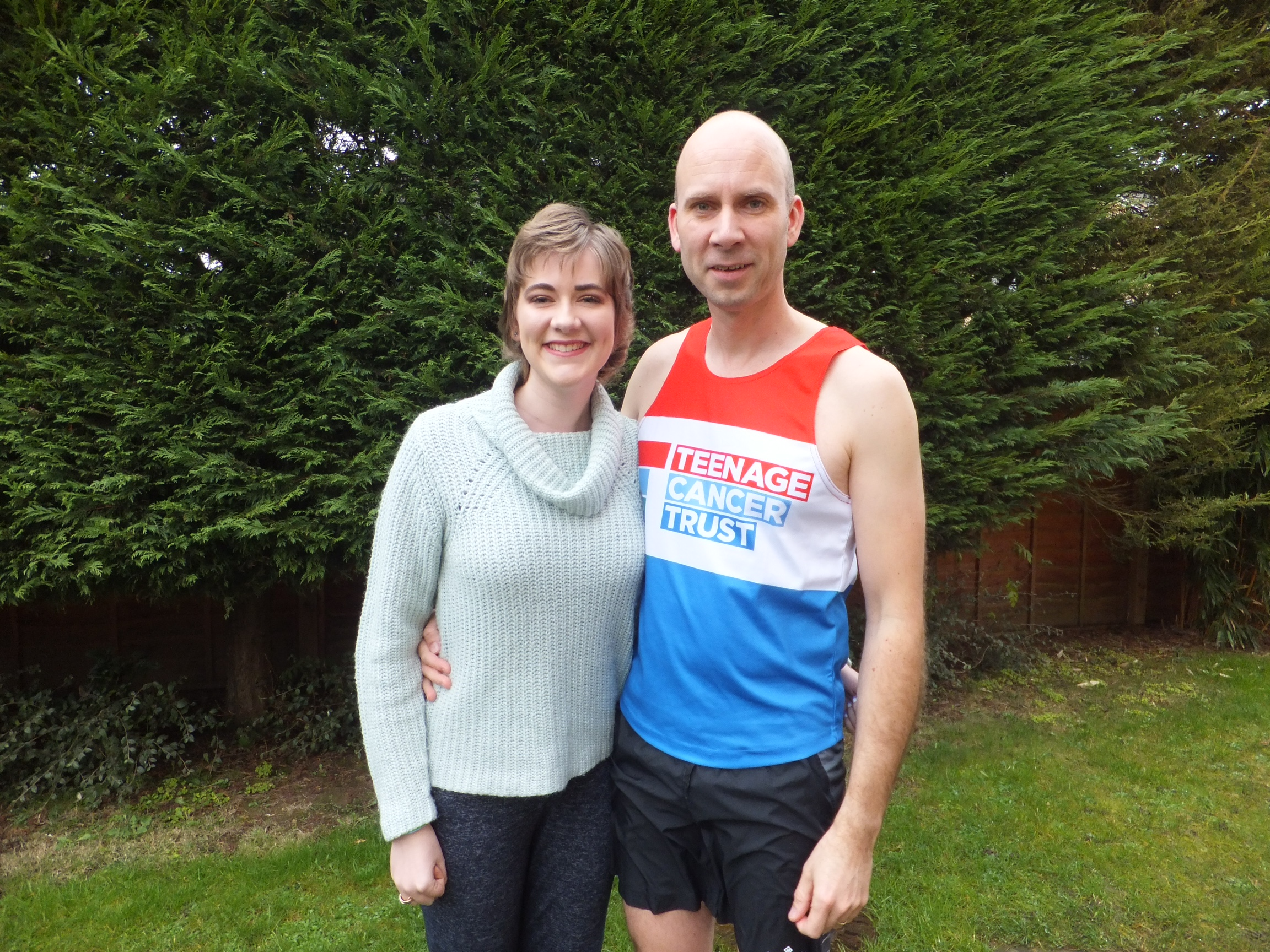 Cambs marathon runner & daughter