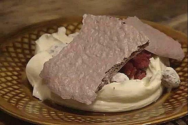 Paul Hollywood Lamb Blood Meringue