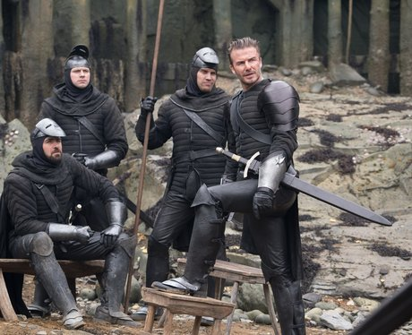 David Beckham in King Arthur Legend of the sword
