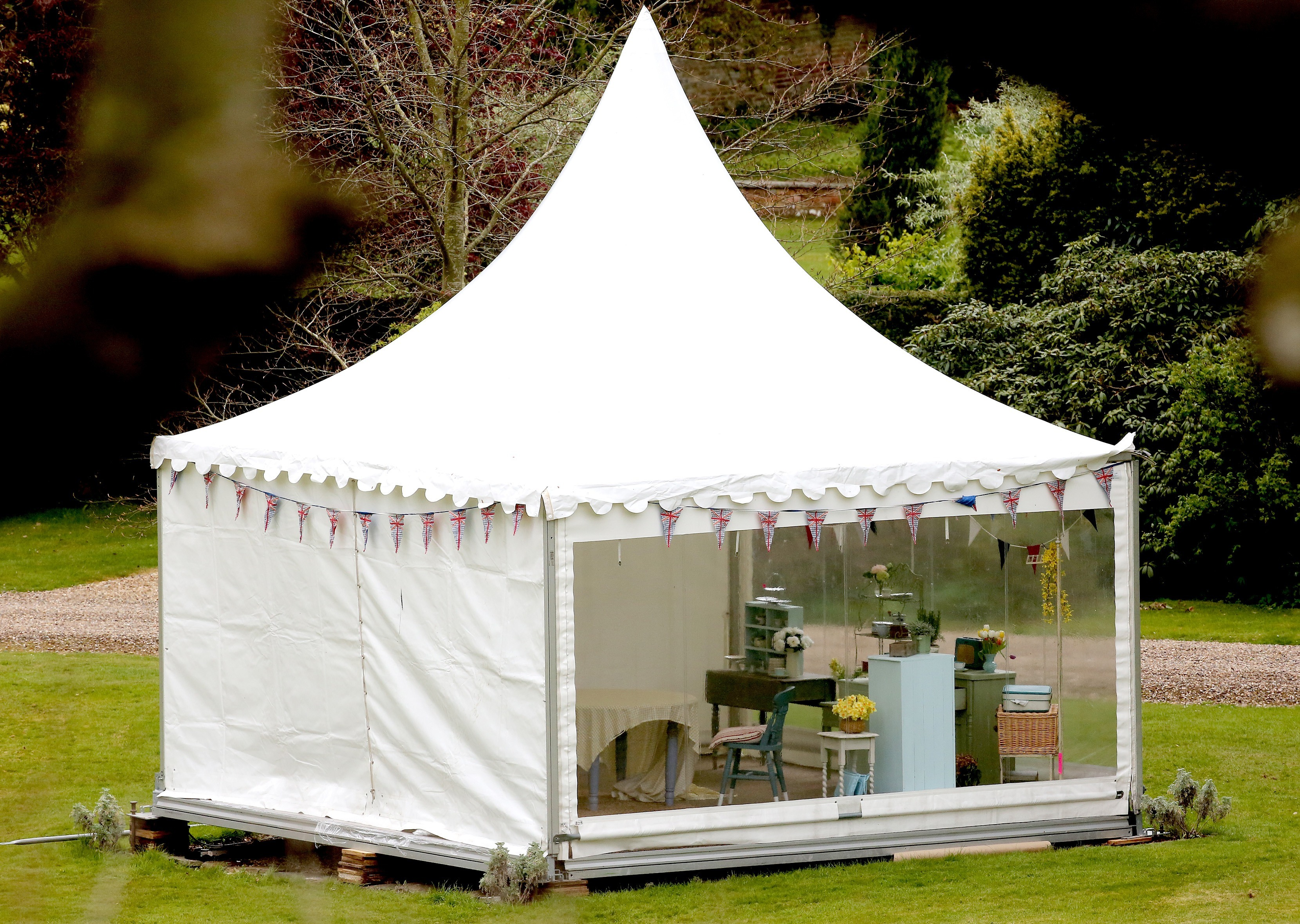New British Bake Off Tent